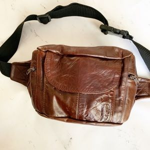Handbags - Leather Adjustable Fanny Pack